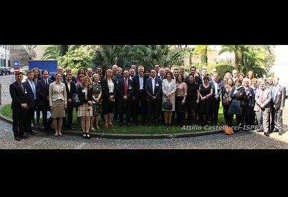6.-7.4.2017 Rím, Taliansko - Diskusia o environmentálnych politikách a cieľoch trvalo udržateľného rozvoja