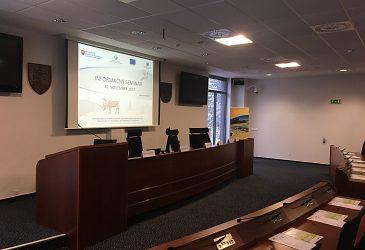 Informačný seminár k implementácii projektov v rámci OP KŽP