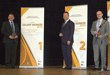 Prvé miesto v súťaži Zelený Merkúr získala firma AGRO CS z Lučenca