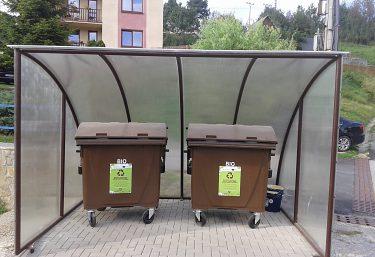 Zavedenie zberu biologicky rozložiteľného odpadu v obci Fričovce