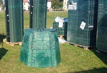 Nákup kompostérov v obci Markušovce