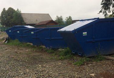 Triedený zber komunálnych odpadov v obci Mengusovce