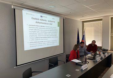 Informačný seminár pre prijímateľov NFP k mzdovým projektom