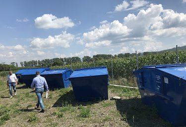 Triedený zber komunálnych odpadov v obci Hranovnica