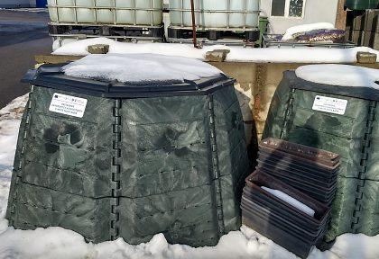 Obstaranie záhradných kompostérov v meste Nová Baňa