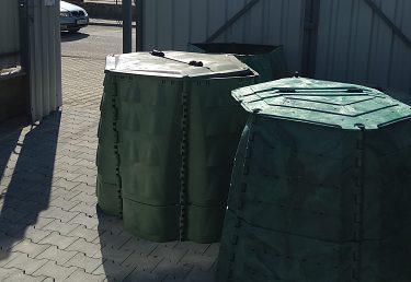 Kompostéry pre obec Horné Srnie