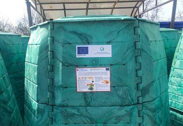 Predchádzanie vzniku biologicky rozložiteľných komunálnych odpadov v obci Kozárovce prostredníctvom obstarania kompostérov