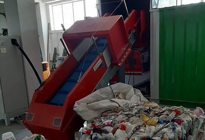 Zariadenie na recykláciu nebezpečných odpadov