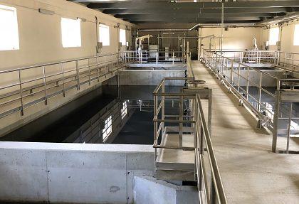 Čierny Balog, kanalizácia a ČOV