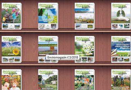 Pomôžte nám zlepšiť obsah jubilujúceho Enviromagazínu, vyplňte dotazník