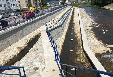 Odstraňovanie bariér na vodnom toku Turiec, rkm 7,530