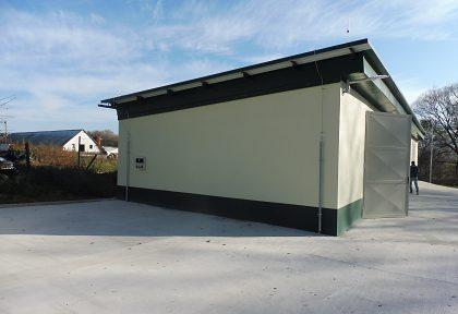 Vybudovanie zberného dvora v obci Opatovce nad Nitrou