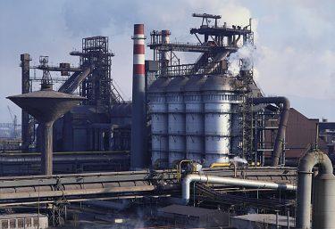 Kontrola emisií pre rudné mosty VP1